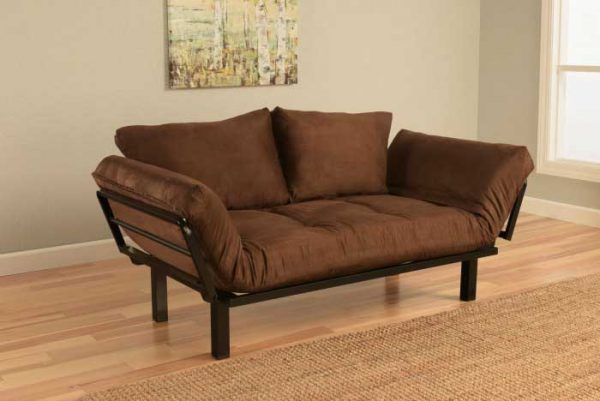 Chocolate futon